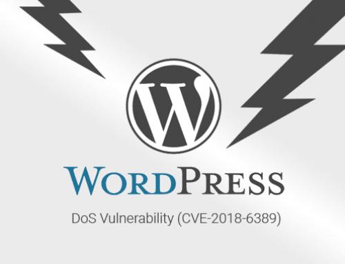 Scoperta vulnerabilità Dos in WordPress 4.9.2